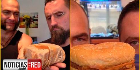 Guardo una hamburguesa por 20 años, el resultado fue inesperado…