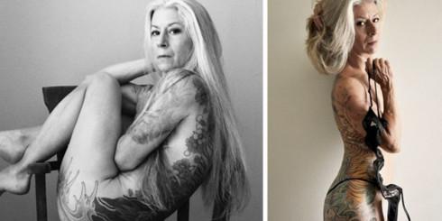 Esta mujer de 56 años demuestra que se puede ser sexy sin importar la edad (NSFW)