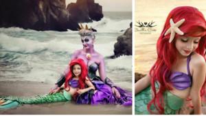 Esta madre y su hija de 7 años hacen cosplay de personajes Disney y son mejores que en las películas